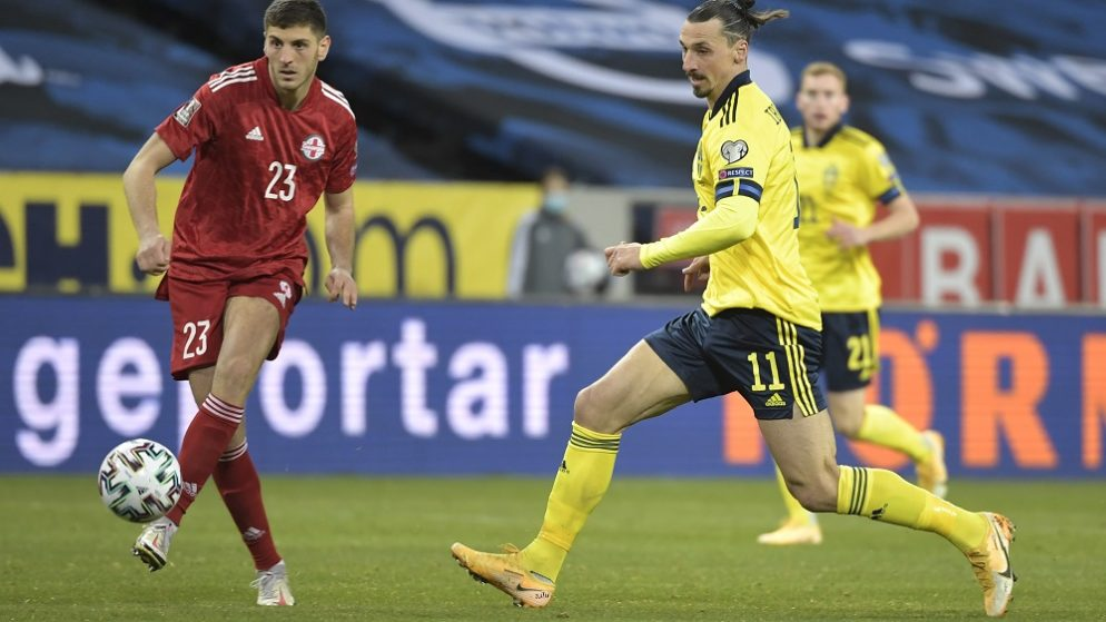 World Cup Qualifiers Europe – Group B – Sweden v Georgia