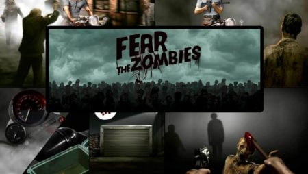 Chạy trốn khỏi đá Zombies trong game slot Fear The Zombies