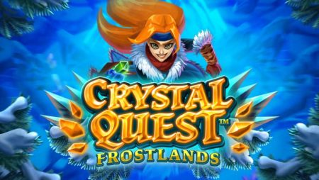 Truy tìm tinh thể trong game slot Crystal Quest: Frostlands